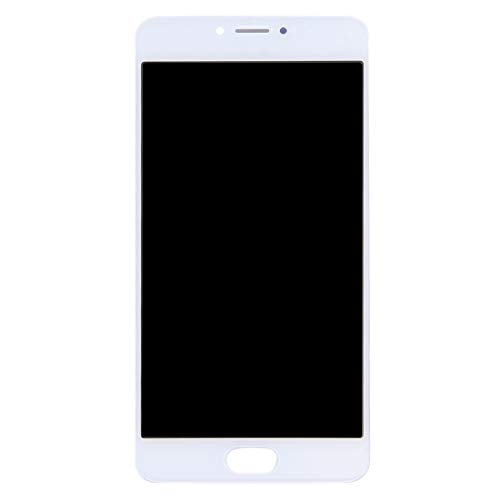 LIJUNGUO Pantalla LCD Ensamblaje de Pantalla táctil digitalizador For Meizu M3 Note/Meilan Note 3 (Versión China) (Color : Blanco)