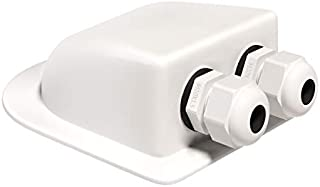 Cable Entry Gland Waterproof - Cable Entry Plate, Fits Cables 3mm to 12mm for Solar Panels, Motorhomes, Caravans, Boats and RV's