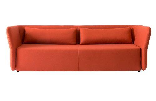 Schlafsofa CARMEN - 144x200cm - Sofa mit Schlaffunktion - Rot