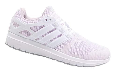 adidas Energy Cloud V - Zapatos para mujer (talla 42 2/3), color blanco y rosa