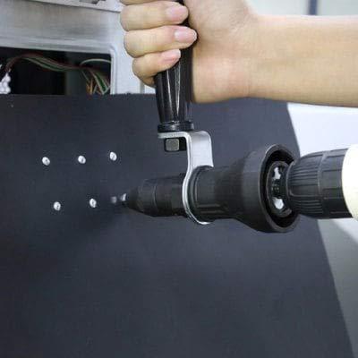 RanDal Drill Adapter Elektrische Nietenpistole Kopf - Schwarz