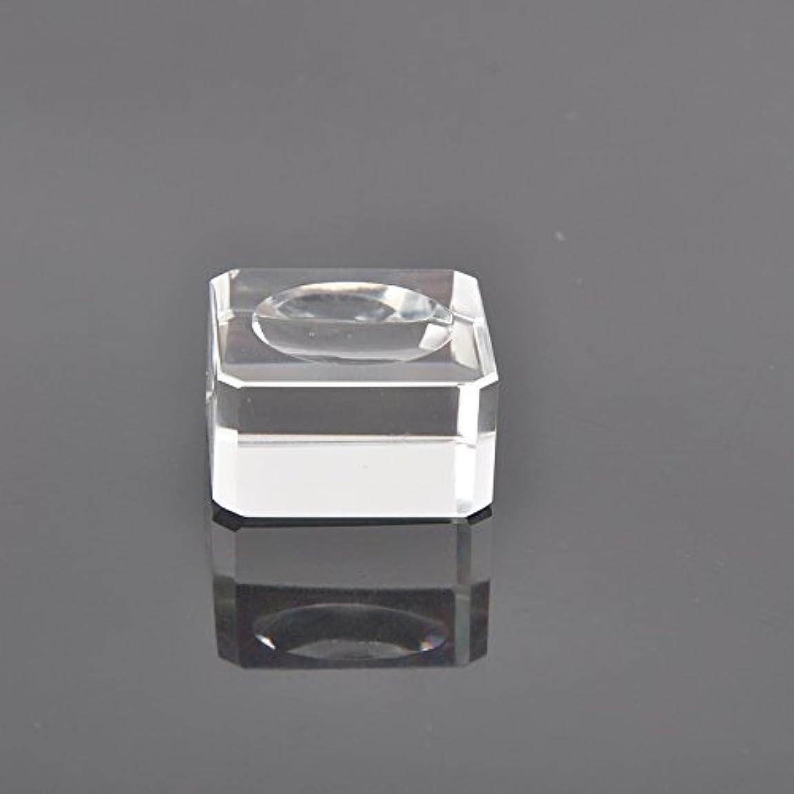 置換前進ありがたいクリスタル グループレート 正方形 まつげエクステ (30mm)
