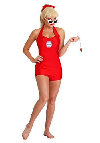 Wendy Peffercorn Adult Sandlot Costume Small Red