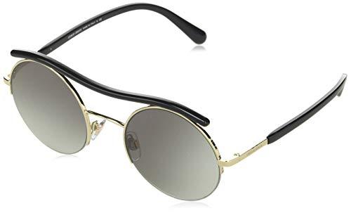 Giorgio Armani 0AR6082 Gafas de sol, Pale Gold, 49 para Mujer