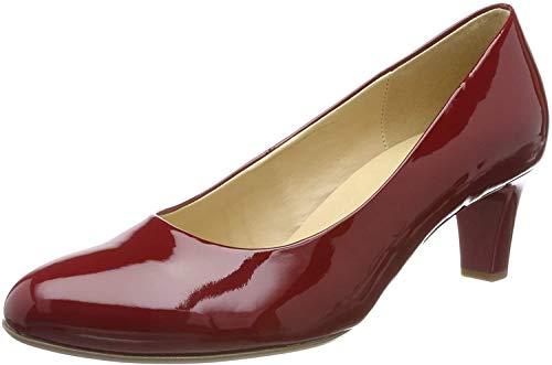 Gabor Shoes Damen Basic Pumps, Rot (Cherry (+Absatz) 75), 38.5 EU