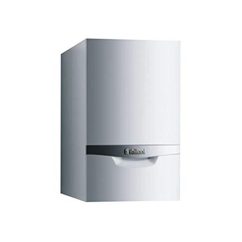 Caldera de gas de condensación modelo Ecotec Plus VMI 346/5-5, calefacción de 30kW y 34kW en ACS, con kit de evacuación y plantilla, gas natural, 56,7 x 44 x 72 centímetros (referencia: 0010021815)