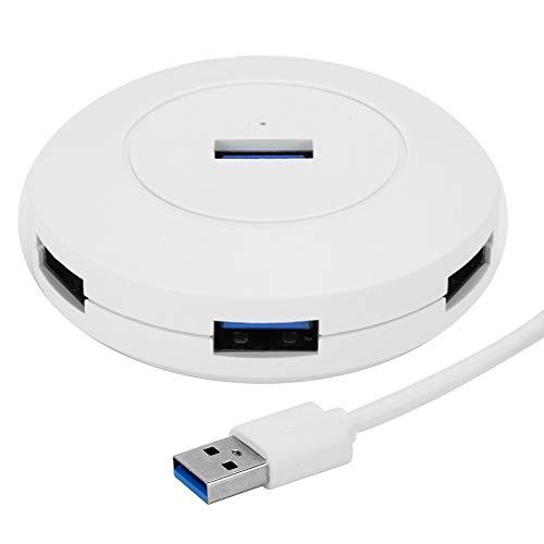Divisor USB2.0, estación de Acoplamiento de concentrador USB 4 en 1 para Soporte de computadora portátil para Windows/Linux, Divisor USB de Alta Velocidad
