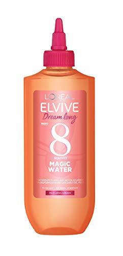 L'Oréal Paris, Tratamiento Lamelar Fluido Elvive Dream Long Magic Water, Con Aclarado, Cabello Hidratado, Suave y Brillante, Para Pelo Largo y Dañado, 200 ml