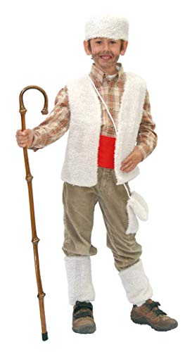 Guirca- Disfraz infantil de pastor, Color beige, 3-4 años (42752.0)