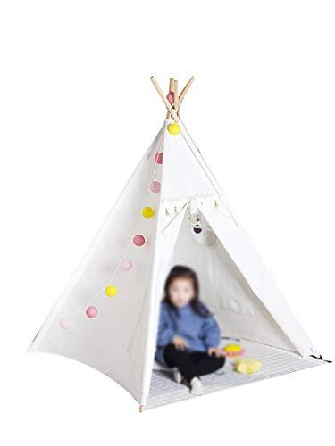Z-w-dong Muebles jardín de infantes Tienda de campaña, Juego Hada linda tienda for bebés niño grande Casa Hogar Sólido color de los niños Casa de los Niños Tiendas de campaña ( Size : 120*120*160CM )