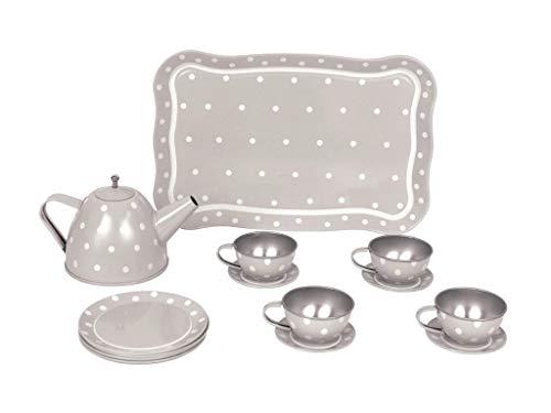 JaBaDaBaDo G12014Dose Tee-Set mit Schutzhülle, Grau