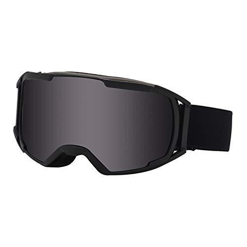 BAIAA Anti Fog Skibrille, Anti Schneeblindheit Schneebrille, Schlagfeste und Helmkompatible Ski Snowboardbrille für Männer Frauen Jugend (C)