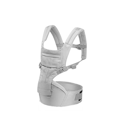 Ergonomie 1-36 M Porte-bébé Hipseat Respirant Portable Kangourous Bébé Sac À Dos pour Carring Enfants Wrap Infant Sling (Color : Gray)