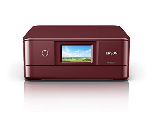 エプソン プリンター インクジェット複合機 カラリオ EP-883AR レッド(赤) 中