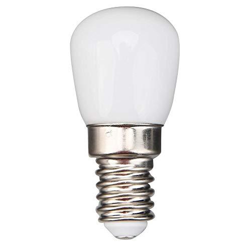 Starnearby E14 LED Birne Kühlschrank Gefrierschrank Licht, Gerätelampe, Schraubbirne, AC220-240V 2W LED Lampe für Kühl- und Gefrierschränke (warmweiß)