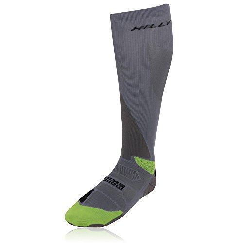 Hilly Peak Kompression Socken Knie Hoch - AW15 - Grün, 36 - 38.5