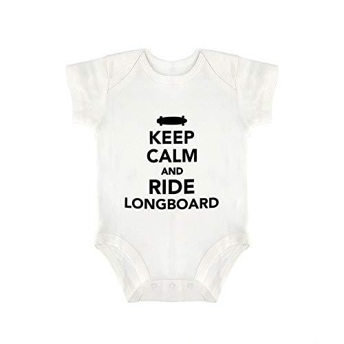DKISEE Longboard - Body divertido para bebé y niña