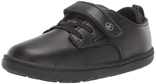 Stride Rite Boys' SRT Giles Sneaker, Black, 7 M US Toddler