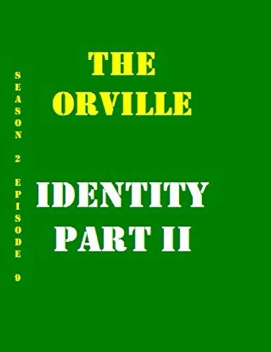 The Orville Identity Part II Quotes Library Decorative Birthday Gift ( 110 Page Big Size ) Notebook Collection A decorative book for coffee tables, ... design styling: Tv Show College Notebook
