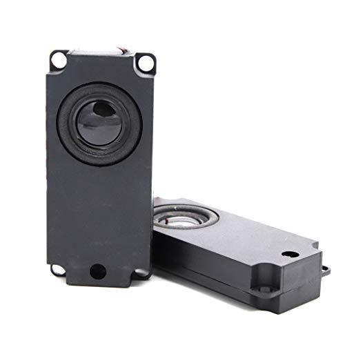 MaNMaNing Kompatibles RC Modellauto Gasgestänge-Gruppen Engine Sound Simulator mit 2 Lautsprechern (Schwarz, 100 x 45 x 20 mm)