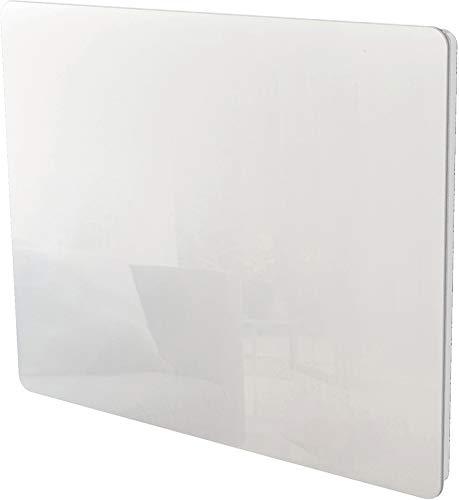 VOLTMAN VOM540020 - Panneau rayonnant - 1000 Watts - Facade en verre Trempée Blanche - Détection fenetre
