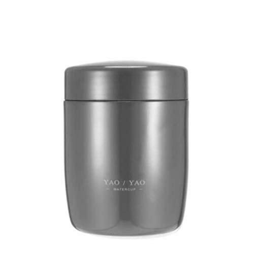 NYSJLONG Botella de Agua para niños Botella Termo portátil para Alimentos Fiambrera aislada Envases de Sopa Frascos de vacío de Acero Inoxidable Taza térmica para