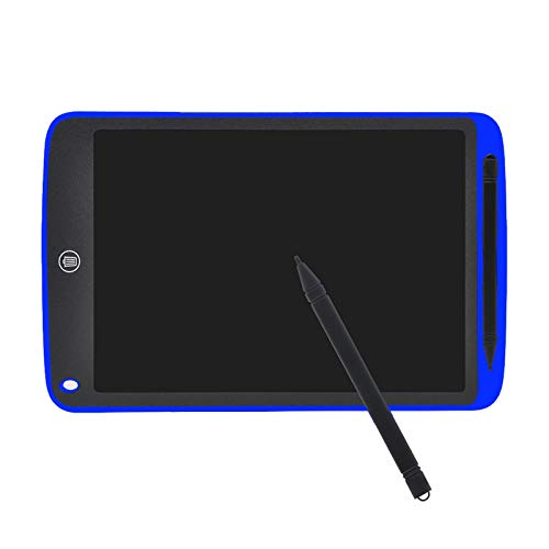 Tableta de dibujo de escritura creativa Bloc de notas de 8.5 pulgadas Tablero gráfico LCD digital Tablero de anuncios de escritura a mano para educación empresarial azul