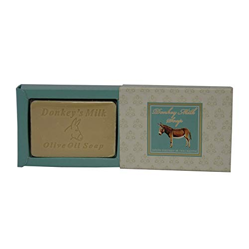 Olijfolie zeep met melk ezel, pak van 2 x 100gr / Σαπούνι Ελαιόλαδου Με Γάλα Γαδούρας, Σετ των 2 x 100γρ