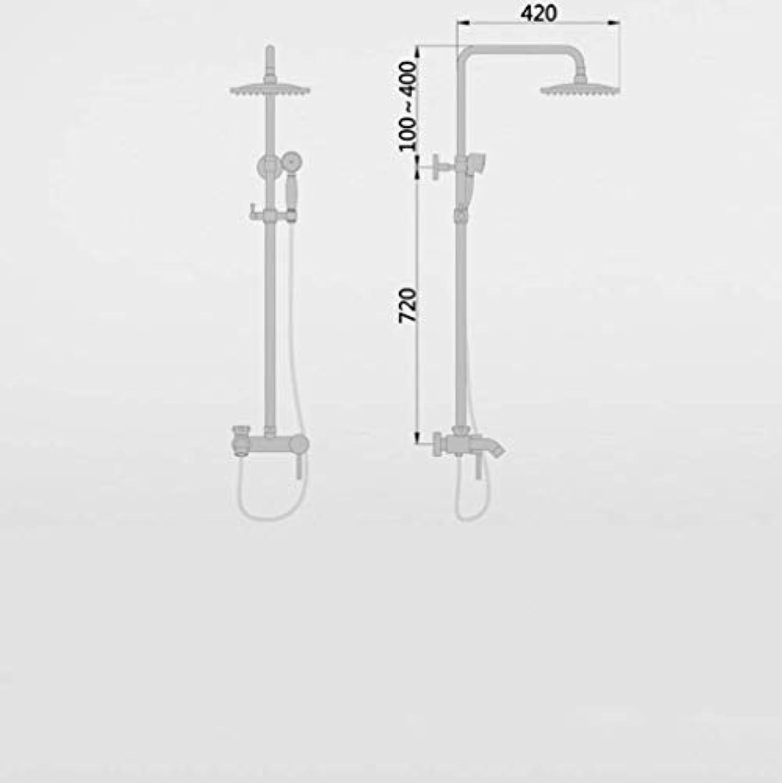 LHW Shower Set Che, Handbrause, Europische, Bronze, rustikal, Dusche, Badewanne Dusche, Handbrause