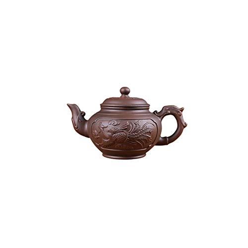 Maya Star Chinesische handgefertigte Yixing-Teekannen aus Ton, große Kapazität, Kongfu-Teekanne für den Haushalt, A03