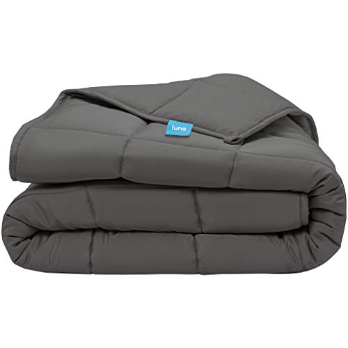 Luna Adult Weighted Blanket - Silky Cooling Bamboo...