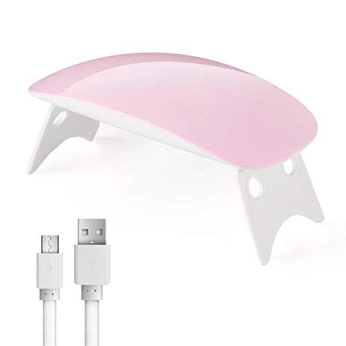 Rovive Nail Lamp Machine Mini LED UV Nagel Lamp Nagel Droger Draagbare Vouwen USB 6 LEDs Nagel Droger voor DIY Nagel Art Gereedschap van Vingernail en Toenail