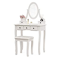 Vanity table to organize your makeup