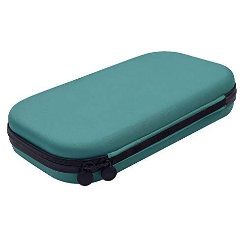 Stethoscope estuches, estetoscopio rígido EVA caja de almacenamiento   fundas de transporte protectoras   accesorios de viaje para médicos enfermeras, color verde