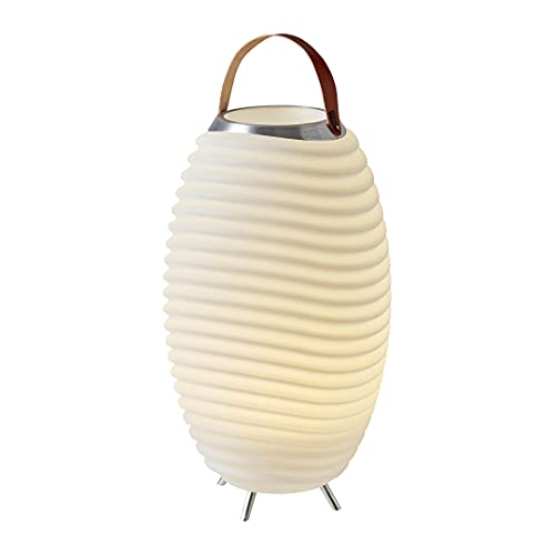 Kooduu Synergy 65 Pro - 3-in-1 Lampada Led Portatile, Altoparlante Bluetooth, Secchiello Ghiaccio Luminoso - Lettore Musicale Senza Fili, Combinabile con altri Dispositivi - Refrigeratore per Vino