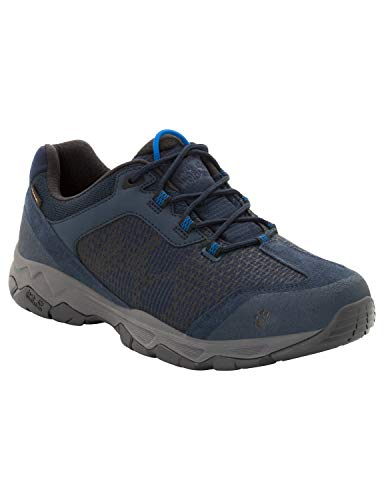 Jack Wolfskin Herren Rock Hunter Texapore Low Trekking- & Wanderhalbschuhe, Blau (Night Blue 1010),...
