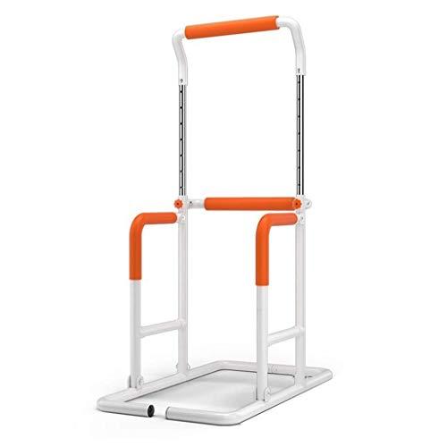 Barra paralela multifunción de altura ajustable para la familia de dominadas