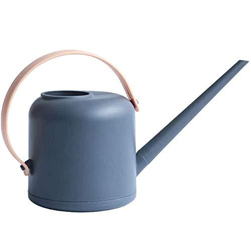 Miyabitors Amovible à Long Bec arrosoir, PP Bonsai Arrosoir Pot, Petit arrosoir Bouilloire for intérieur et extérieur 1800ml (Color : Pink)