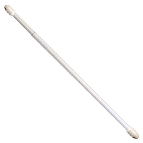 RIEL CHYC - Portavisillos Extensible Oval Blanco40- 60cm (2 Piezas)