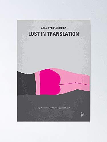 """AZSTEEL Póster de la película """"Lost In Translation"""" (11,7 x 16,5)"""