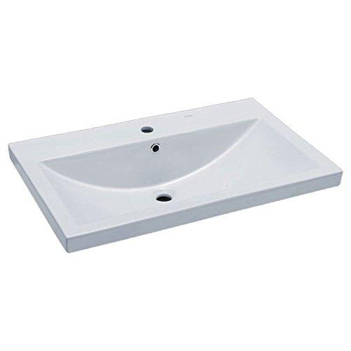 EAGO Waschbecken BH001E (Einbau) 80cm breit