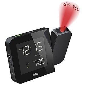 Braun Digital Tilt Projection Alarm Clock