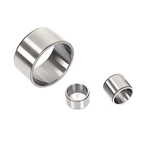 2 piezas Teniendo Eje de acero de la manga casquillo interior 10mm de diámetro, 12mm Diámetro exterior, Longitud 20mm de cojinete Jig arbustos del eje del anillo de la manga, 10x12x20mm