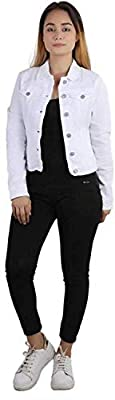 Kanzul Full Sleeves Solid Women's Denim Jacket