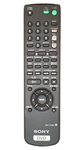Sony DVD RMT-D130A Remote for SONY players DPVNC600 DUVNC600 DVPN600C and DVPNC6.