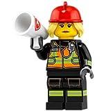 (開封済未使用品) レゴ ミニフィギュアシリーズ - 19 71025 消防士 [並行輸入品]