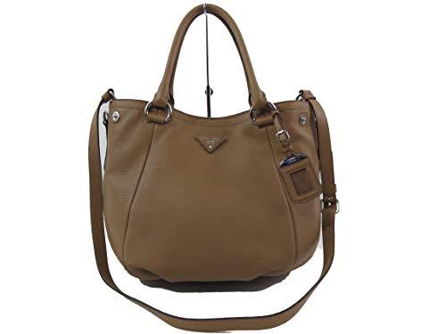 Prada Vitello Daino 1BC792 Leather Convertible Satchel