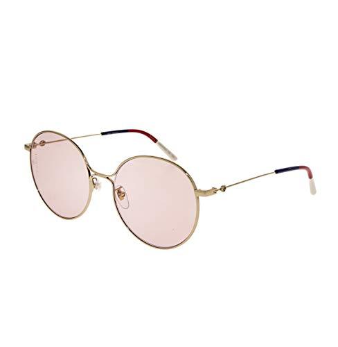 Gucci Sonnenbrille GG0395SK 004 gold größe 56 mm brille für damen
