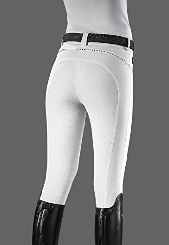 Equiline Cecile - Pantaloni da Equitazione, da Donna, Taglia 48, Colore: Blu Navy