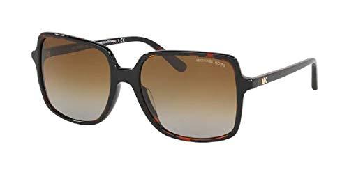 MK2098U 3781T5 56MM Dark Tortoise/Grey Brown Gradient Polar Square Sunglasses for Women + FREE Complimentary Eyewear Kit